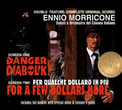 Ennio Morricone - Danger Diabolik / For A Few Dollars More CD Soundtrack