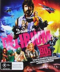 Drive In Delirium: Maximum 80's Overdrive Blu-Ray (Region Free)