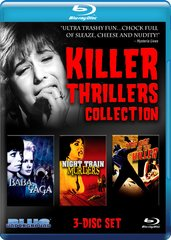 Killer Thrillers Collection Blu-Ray