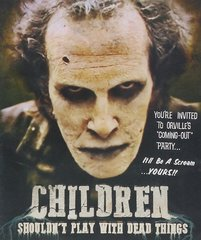 Children Shouldn't Play With Dead Things Blu-Ray