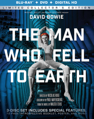Man Who Fell To Earth (Limited Collector's Edition) Blu-Ray/DVD