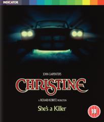 Christine Blu-Ray (Region Free)