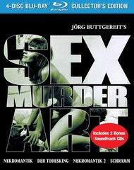Sex Murder Art (4-Disc Collector's Edition) Blu-Ray