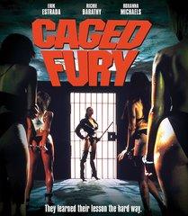 Caged Fury Blu-Ray