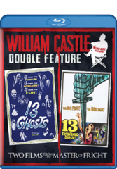 William Castle Double Feature: 13 Ghosts / 13 Frightened Girls Blu-Ray