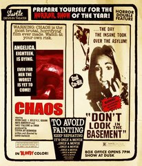 Chaos / Don't Look In The Basement Blu-Ray