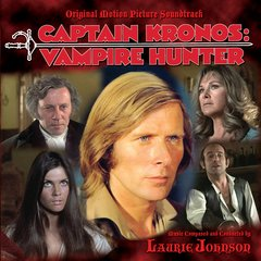 Captain Kronos: Vampire Hunter CD Soundtrack