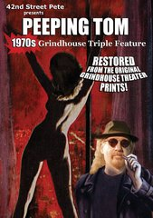 42nd Street Pete's Peeping Tom Grindhouse Triple Feature DVD