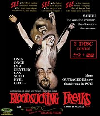 Bloodsucking Freaks Blu-Ray/DVD