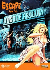 Escape From The Insane Asylum (Limited Edition) DVD