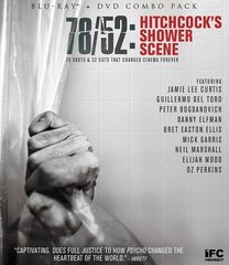 78/52: Hitchcock's Shower Scene Blu-Ray/DVD
