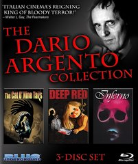 Dario Argento Collection Blu-Ray