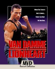 Lionheart Blu-Ray/DVD