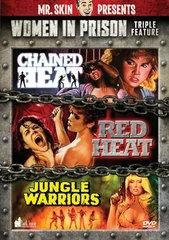Women In Prison Triple Feature DVD