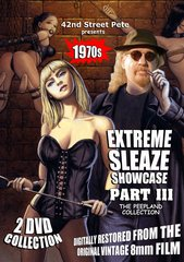 42nd Street Pete's Extreme Sleaze Showcase Part III: The Peepland Collection DVD