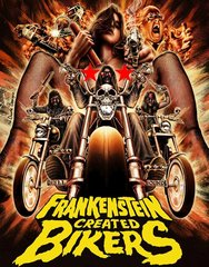 Frankenstein Created Bikers Blu-Ray