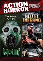 Action Horror Double Feature DVD