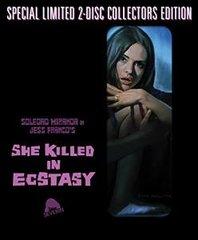 She Killed In Ecstasy Blu-Ray/CD