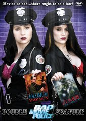 Bad Movie Police Double Feature: Zombie Cop / Maximum Impact DVD