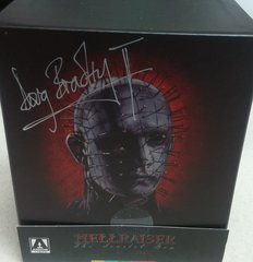 Hellraiser: The Scarlet Box (Limited Edition - Signed by Doug Bradley) Blu-Ray