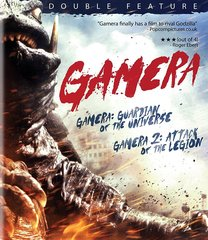 Gamera: Guardian Of The Universe / Gamera 2: Attack Of The Legion Blu-Ray