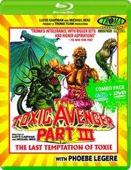 Toxic Avenger III: The Last Temptation Of Toxie Blu-Ray/DVD
