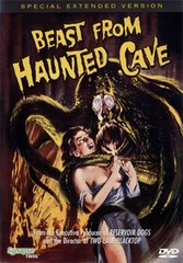Beast From Haunted Cave DVD