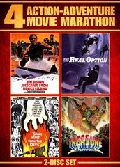 Action Adventure Movie Marathon DVD
