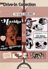 Marsha: The Exotic Housewife / For Single Swingers Only / Her Odd Tastes DVD