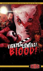 Lights Camera Blood VHS