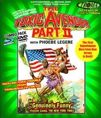 Toxic Avenger II Blu-Ray/DVD