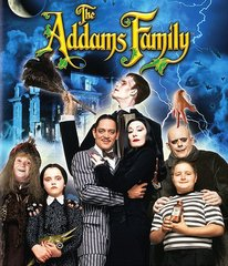 Addam's Family Blu-Ray