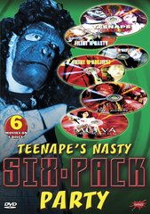 Teenape's Nasty Six-Pack Party (6-Pack) DVD