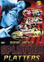 Bonejack's Splatter Platters (5-Pack) DVD