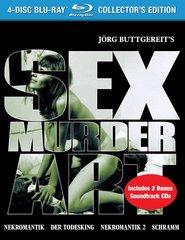 Sex Murder Art: The Films Of Jorg Buttgereit Blu-Ray/CD (6-Discs)