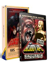 Bloody Ape DVD/VHS Combo