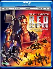 Red Scorpion Blu-Ray/DVD