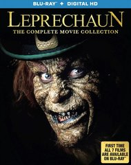Leprechaun: The Complete Movie Collection Blu-Ray
