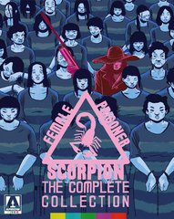 Female Prisoner Scorpion: The Complete Collection Blu-Ray/DVD