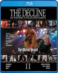 Decline Of Western Civilization Part II: The Metal Years Blu-Ray
