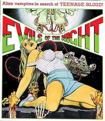 Evils Of The Night Blu-Ray/DVD