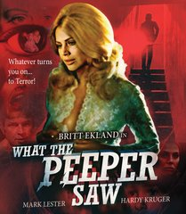 What The Peeper Saw Blu-Ray