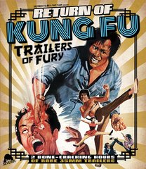 Return Of Kung Fu Trailers Of Fury Blu-Ray