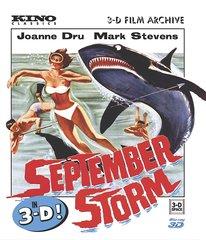 September Storm 3D Blu-Ray