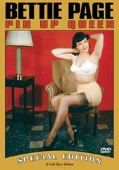 Bettie Page Pin-Up Queen DVD