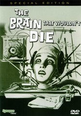 Brain That Wouldn't Die DVD