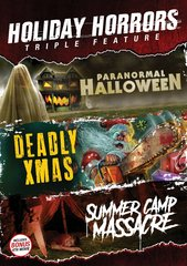Holiday Horrors Triple Feature DVD