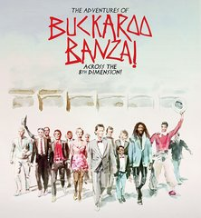 Adventures Of Buckaroo Banzai Across The 8th Dimension Blu-Ray Steelbook