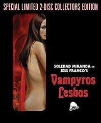 Vampyros Lesbos Blu-Ray/DVD