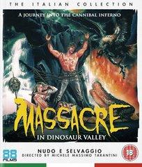Massacre In Dinosaur Valley Blu-Ray (Region Free)